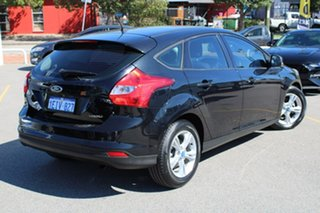2013 Ford Focus LW MkII Trend PwrShift Black 6 Speed Automatic Hatchback