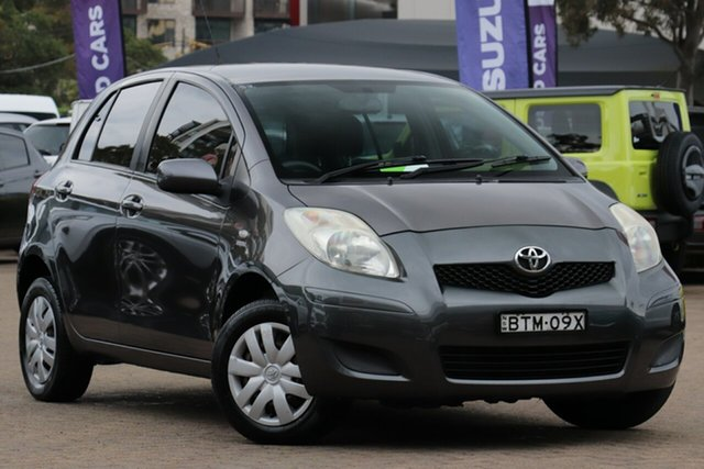 Used Toyota Yaris NCP90R 10 Upgrade YR, 2010 Toyota Yaris NCP90R 10 Upgrade YR Grey 5 Speed Manual Hatchback