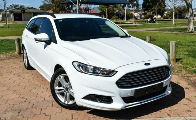 Used Ford Mondeo MD 2017.00MY Ambiente, 2017 Ford Mondeo MD 2017.00MY Ambiente White 6 Speed Sports Automatic Dual Clutch Wagon