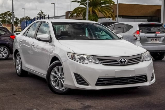 Used Toyota Camry ASV50R Altise, 2014 Toyota Camry ASV50R Altise White 6 Speed Sports Automatic Sedan