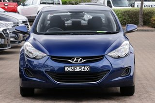 2013 Hyundai Elantra AD.2 Active Navy Blue Automatic Sedan