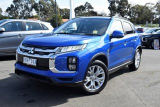 2020 Mitsubishi ASX XD MY20 LS 2WD Lightning Blue 1 Speed Constant Variable Wagon.
