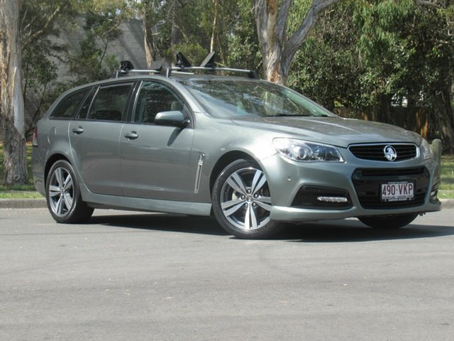 Used Holden Commodore VF MY14 SV6 Sportwagon, 2014 Holden Commodore VF MY14 SV6 Sportwagon Silver 6 Speed Sports Automatic Wagon