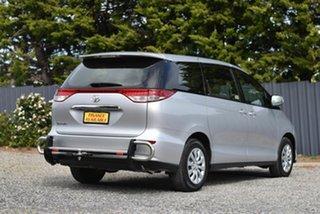 2016 Toyota Tarago ACR50R GLi Silver 7 Speed Constant Variable Wagon