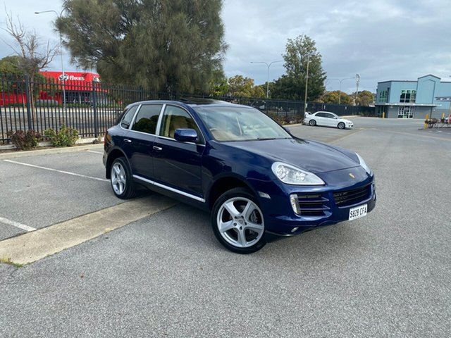 Used Porsche Cayenne 9PA MY10 Diesel Mile End, 2009 Porsche Cayenne 9PA MY10 Diesel Blue 6 Speed Sports Automatic Wagon