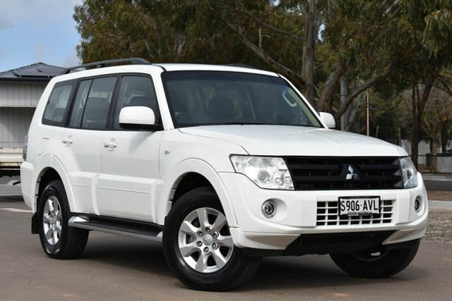 Used Mitsubishi Pajero NW MY13 GLX-R, 2013 Mitsubishi Pajero NW MY13 GLX-R White 5 Speed Manual Wagon