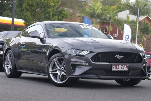 Demo Ford Mustang FN 2020MY GT, 2019 Ford Mustang FN 2020MY GT Magnetic 10 Speed Sports Automatic Fastback