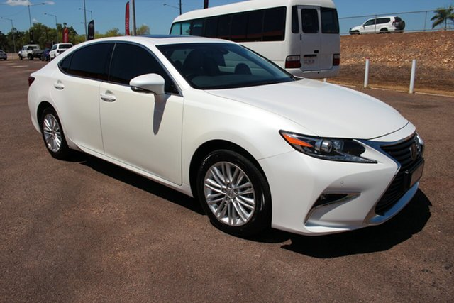 Used Lexus ES GSV60R ES350 Luxury, 2017 Lexus ES GSV60R ES350 Luxury Sonic Quartz 6 Speed Sports Automatic Sedan