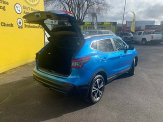 2018 Nissan Qashqai J11 Series 2 ST-L X-tronic Vivid Blue 1 Speed Constant Variable Wagon