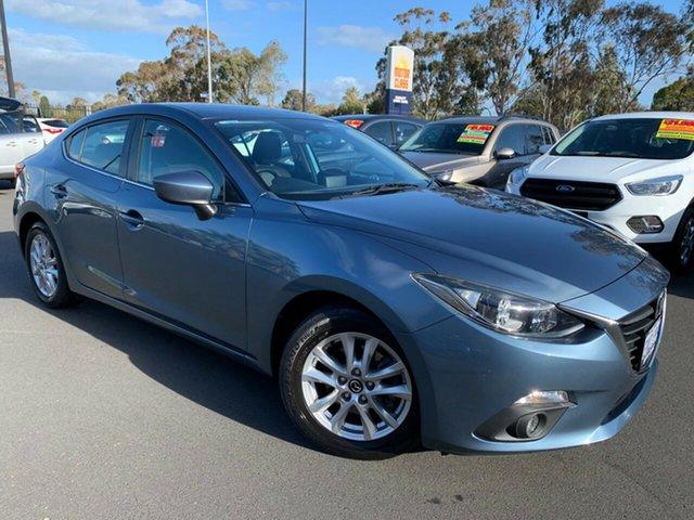 Used Mazda 3 BM5278 Maxx SKYACTIV-Drive, 2015 Mazda 3 BM5278 Maxx SKYACTIV-Drive Blue 6 Speed Sports Automatic Sedan