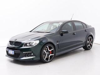 2013 Holden Special Vehicles ClubSport Gen F R8 Green 6 Speed Manual Sedan.