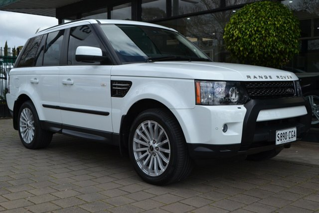 Used Land Rover Range Rover Sport L320 12MY SDV6, 2012 Land Rover Range Rover Sport L320 12MY SDV6 White 6 Speed Sports Automatic Wagon