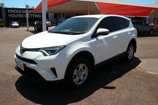 2017 Toyota RAV4 ASA44R GX AWD Glacier White 6 Speed Automatic Wagon.