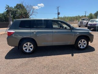 2009 Toyota Kluger KXR Grey 4 Speed Auto Active Select Wagon