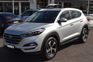 2016 Hyundai Tucson TLe MY17 Elite AWD Silver 6 Speed Sports Automatic Wagon.
