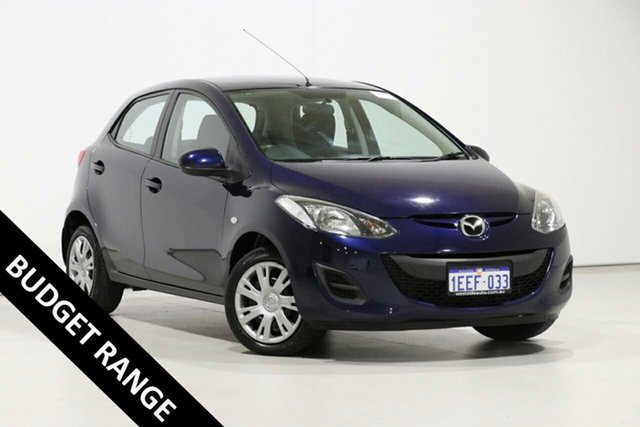 Used Mazda 2 DE MY12 Neo, 2013 Mazda 2 DE MY12 Neo Blue 5 Speed Manual Hatchback