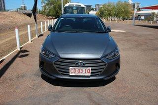 2017 Hyundai Elantra AD MY17 Elite Grey 6 Speed Sports Automatic Sedan.