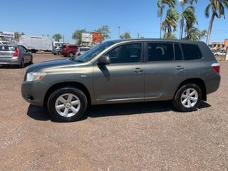 2009 Toyota Kluger KXR Grey 4 Speed Auto Active Select Wagon.