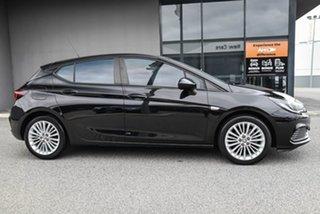2018 Holden Astra BK MY18.5 R Black 6 Speed Sports Automatic Hatchback.