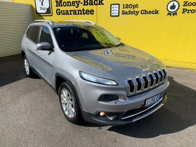 Used Jeep Cherokee KL MY15 Limited, 2014 Jeep Cherokee KL MY15 Limited Silver 9 Speed Sports Automatic Wagon