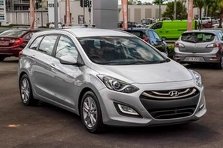 2014 Hyundai i30 GD Active Tourer Silver 6 Speed Sports Automatic Wagon.