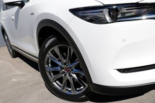 2020 Mazda CX-8 KG4W2A 100th Anniversary SKYACTIV-Drive i-ACTIV AWD Snowflake White Pearl 6 Speed.