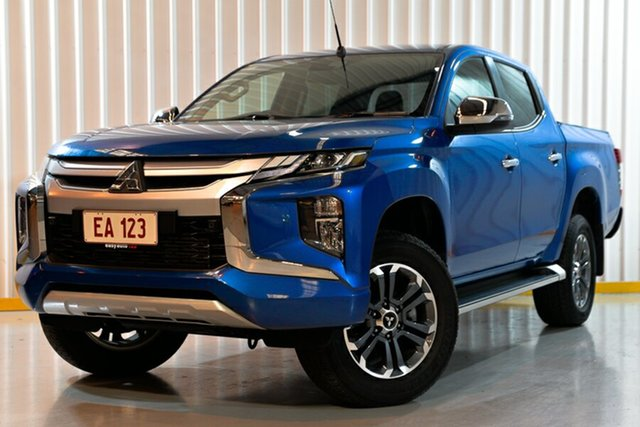 Used Mitsubishi Triton MR MY19 GLS Double Cab, 2019 Mitsubishi Triton MR MY19 GLS Double Cab Blue 6 Speed Sports Automatic Utility