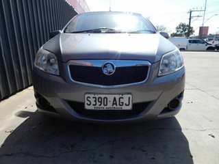 2010 Holden Barina TK MY10 Grey 5 Speed Manual Hatchback.