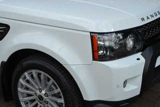 2012 Land Rover Range Rover Sport L320 12MY SDV6 White 6 Speed Sports Automatic Wagon