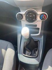 2010 Ford Fiesta WT LX Red 5 Speed Manual Sedan