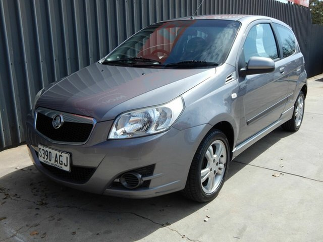 Used Holden Barina TK MY10 Blair Athol, 2010 Holden Barina TK MY10 Grey 5 Speed Manual Hatchback