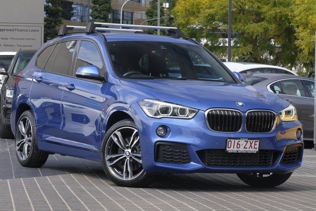 Used BMW X1 F48 xDrive25i Steptronic AWD, 2016 BMW X1 F48 xDrive25i Steptronic AWD Blue 8 Speed Sports Automatic Wagon