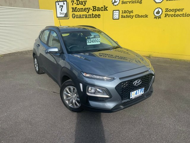 Used Hyundai Kona OS.3 MY20 Go 2WD, 2019 Hyundai Kona OS.3 MY20 Go 2WD Lake Silver 6 Speed Sports Automatic Wagon