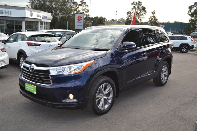 Used Toyota Kluger GSU55R GXL AWD, 2015 Toyota Kluger GSU55R GXL AWD Blue 6 Speed Sports Automatic Wagon