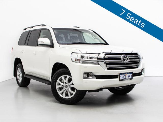 Used Toyota Landcruiser VDJ200R LC200 VX (4x4), 2019 Toyota Landcruiser VDJ200R LC200 VX (4x4) White 6 Speed Automatic Wagon