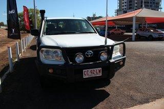 2012 Toyota Landcruiser VDJ200R MY10 GX Glacier White 6 Speed Sports Automatic Wagon.
