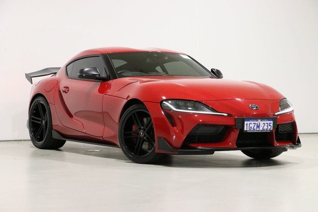 Used Toyota Supra GR DB42R GT, 2019 Toyota Supra GR DB42R GT Red 8 Speed Automatic Coupe