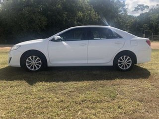 2015 Toyota Camry ASV50R Altise Diamond White 6 Speed Automatic Sedan