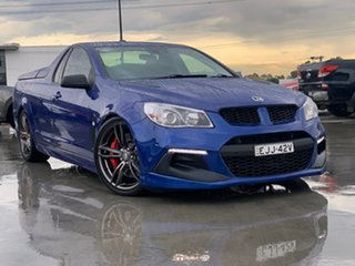 2016 Holden Special Vehicles Maloo Gen-F2 MY16 R8 LSA Blue 6 Speed Sports Automatic Utility.