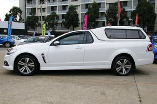 2015 Holden Ute VF MY15 SV6 White 6 Speed Manual Utility
