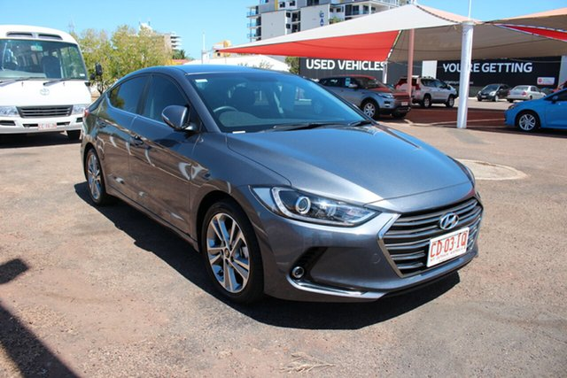 Used Hyundai Elantra AD MY17 Elite, 2017 Hyundai Elantra AD MY17 Elite Grey 6 Speed Sports Automatic Sedan