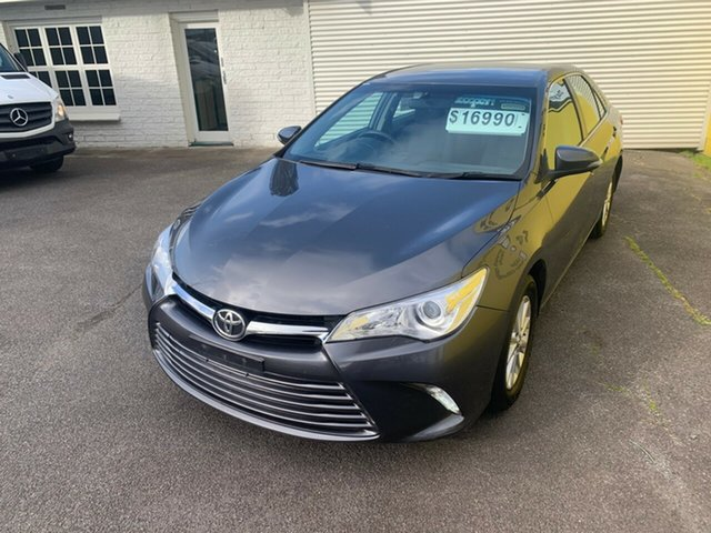 Used Toyota Camry ASV50R Altise Launceston, 2015 Toyota Camry ASV50R Altise Grey 6 Speed Sports Automatic Sedan