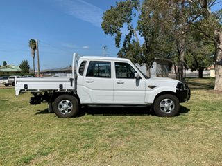 2017 Mahindra Pik-Up MY18 S6 White 6 Speed Manual Cab Chassis.