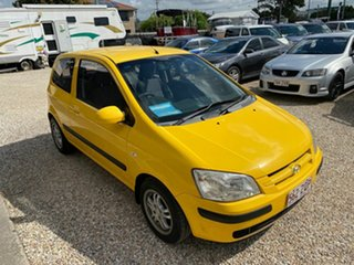 2005 Hyundai Getz TB Upgrade 1.6 Yellow 5 Speed Manual Hatchback.