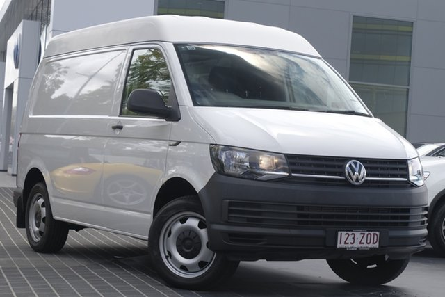 Demo Volkswagen Transporter T6 MY18 TDI400 SWB DSG, 2017 Volkswagen Transporter T6 MY18 TDI400 SWB DSG Candy White 7 Speed Sports Automatic Dual Clutch