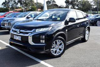 2020 Mitsubishi ASX XD MY20 ES 2WD Black 1 Speed Constant Variable Wagon.