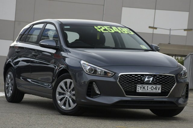 Demo Hyundai i30 PD.3 MY20 Go, 2019 Hyundai i30 PD.3 MY20 Go Iron Grey 6 Speed Sports Automatic Hatchback