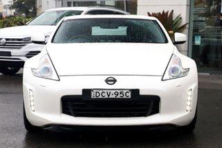 2014 Nissan 370Z Z34 MY14 White 7 Speed Sports Automatic Coupe