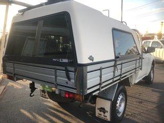 2010 Mitsubishi Triton MN MY10 GLX (4x4) White 5 Speed Manual 4x4 Cab Chassis.
