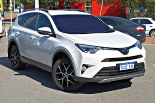 2018 Toyota RAV4 ZSA42R GXL 2WD White 7 Speed Constant Variable Wagon.